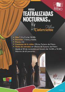 Visitas tetralizadas nocturnas al Fitero Cisterciense